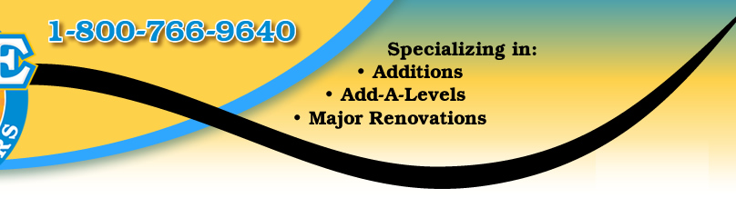 Specializing in Additions, Add-A-Level and other major home renovation projects